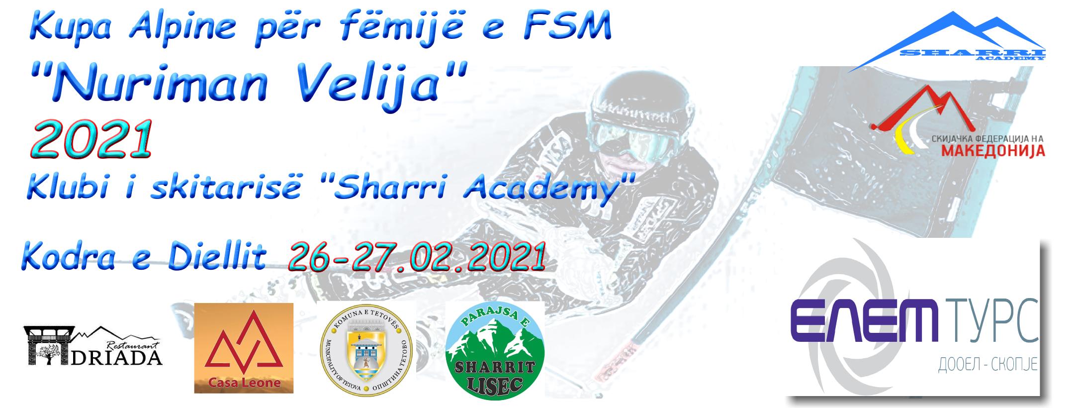 Rezultatet nga Kupa Alpine për fëmijë e FSM
